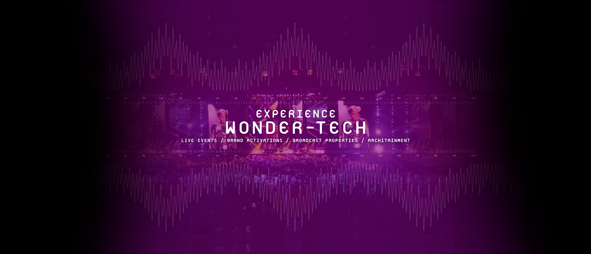 Experience Wonder Tech: Live Events / Brand Activations / Broadcast Properties / Architainment